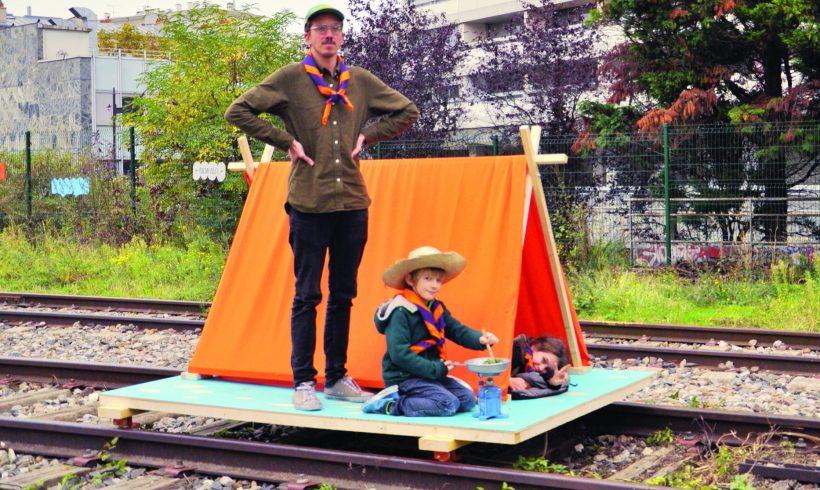 La Petite ceinture : concours de cartes postales, à bord des engins roulants!