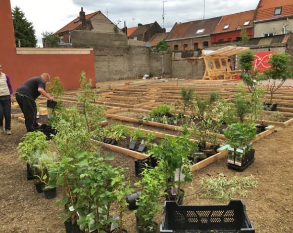 Le jardin Marie Buisine