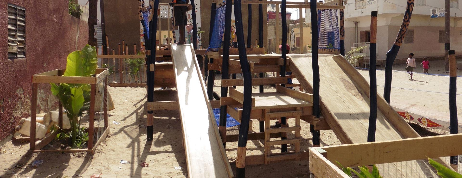 Air de jeux au Sénégal