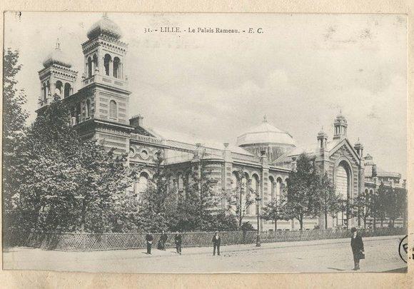 Le parc du Palais Rameau